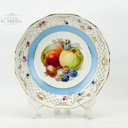 Plato de porcelana Schumann Arzberg Bavaria