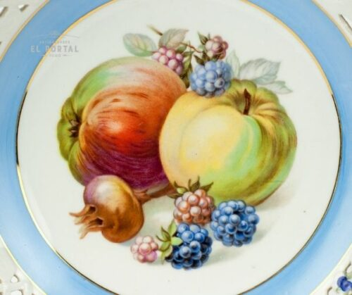 Plato de porcelana Schumann Arzberg Bavaria | 1
