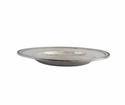 Christofle plato de plaqué estilo Luis XVl modelo perlas | 5