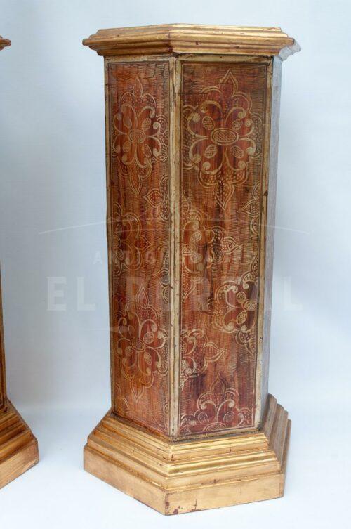 Blackamoor Gondolero veneciano de madera (Par) | 8