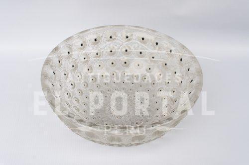 Lalique bol cristal francés modelo Nemours | 3
