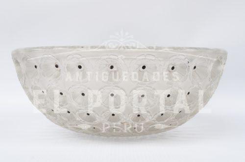 Lalique bol cristal francés modelo Nemours | 5