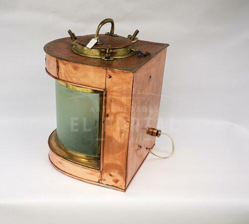 Farol de barco de cobre y bronce | 2