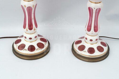 Lámpara de mesa de cristal de Bohemia (Par) | 3