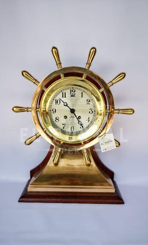 Reloj de barco en forma de timón marca Chelsea | 1