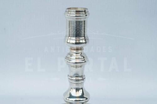 Christofle porta vela de plaqué francés | 4