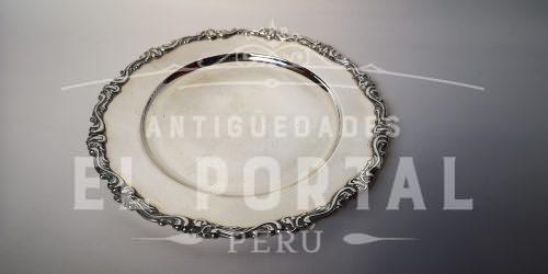 Camusso Plata Ley 925  Plato 28 cm | 1