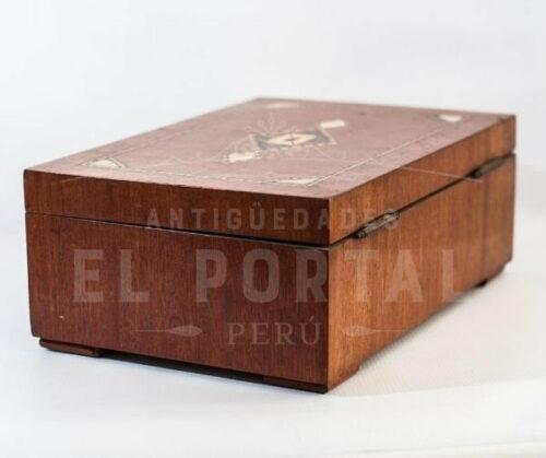 Cofre Joyero de madera con marquetería | 3