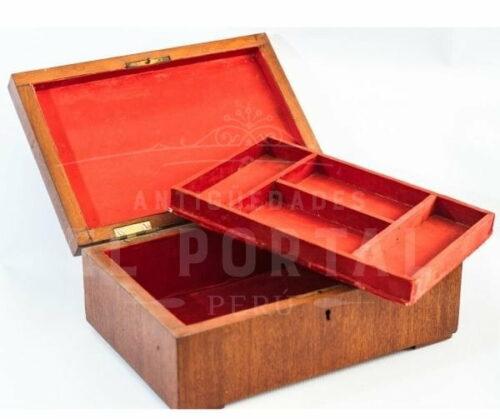 Cofre Joyero de madera con marquetería | 5