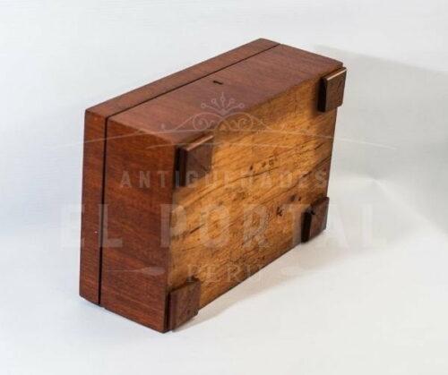Cofre Joyero de madera con marquetería | 6