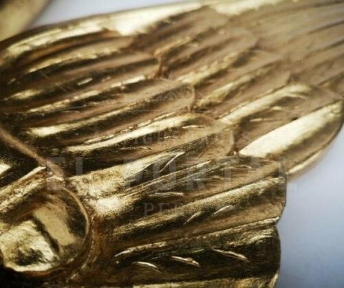 Alas de madera tallada dorada | 1