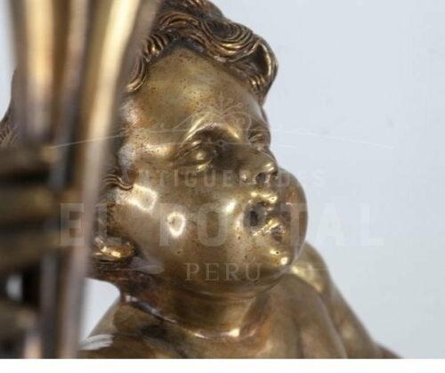 Lámpara de mesa de bronce | 3