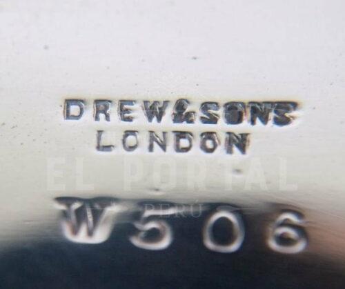 Azafate de plaqué inglés Drew & Sons | 5