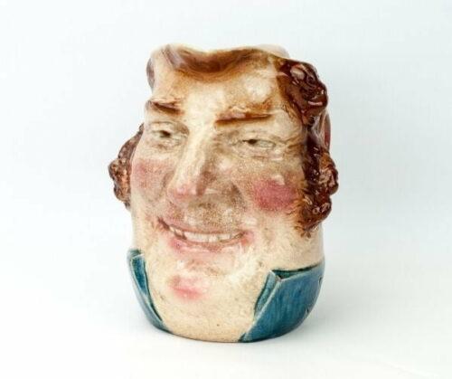 Sarreguemines jarra de loza