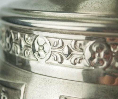 Florero de plaqué marca Argentor estilo Art Deco | 3