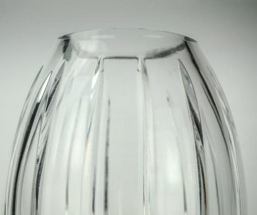 Florero de cristal de Bohemia   3