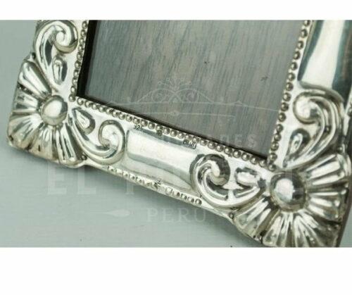 marco de fotos de plata