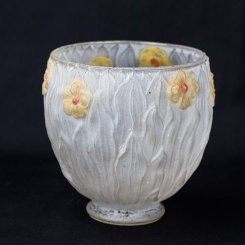pantalla de cristal art nouveau