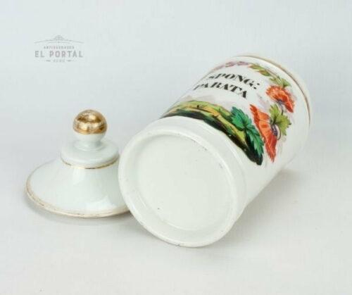Conservera de farmacia de porcelana SPONG PARATA