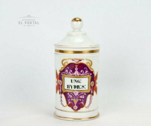 Conservera de farmacia de porcelana UNG-HYDR-S