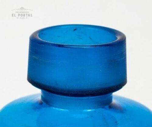 Botella de botica de vidrio francés | 1