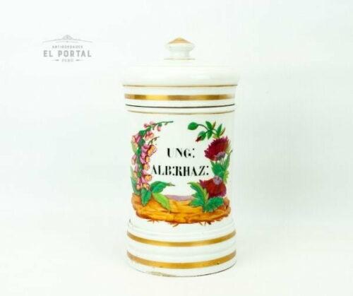 conservera de porcelana francesa
