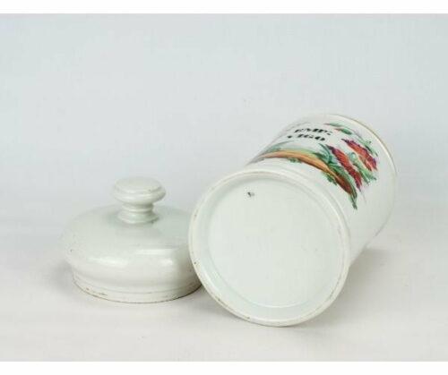Conservera de farmacia porcelana francesa | 1