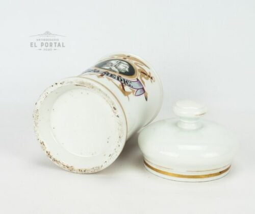 "Conservera de botica de porcelana ""SAPO MEDIC:"" | 2"
