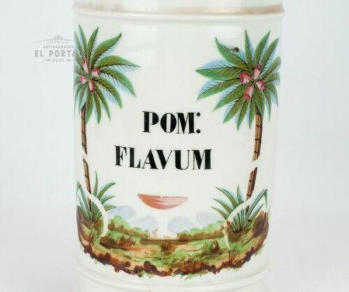 Conservera de botica de porcelana   1