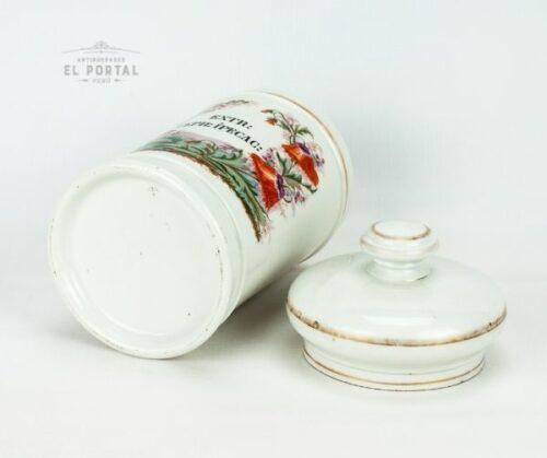 Conservera de Botica de porcelana francesa | 1