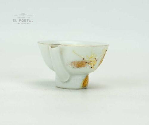 Copa de Sake de porcelana Ichitoshi Japón | 2