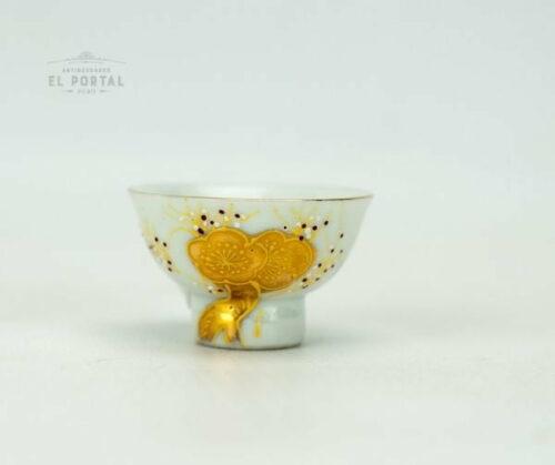 Copa de Sake de porcelana Ichitoshi Japón | 1
