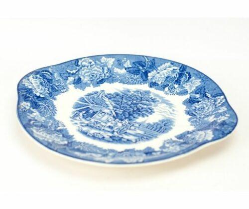 Plato de porcelana azul y blanco Enoch Woods & Sons | 1
