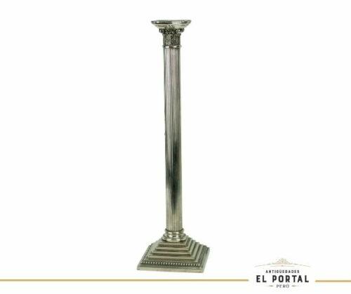 candelabro-porta-vela-de-plaque