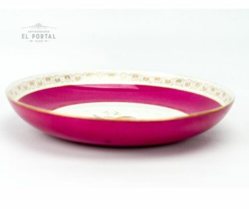 Plato de porcelana decorativo | 2