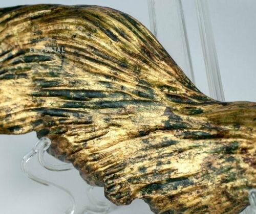 Alas de madera tallada policromado y dorado | 2