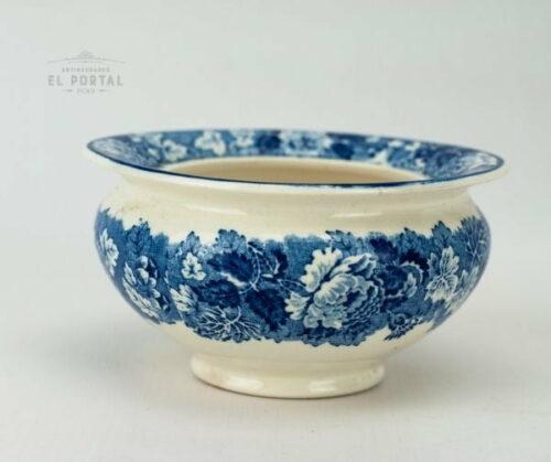 Bowl Woods & Sons azul y blanco | 2
