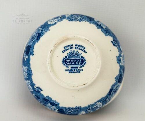 Bowl Woods & Sons azul y blanco | 3