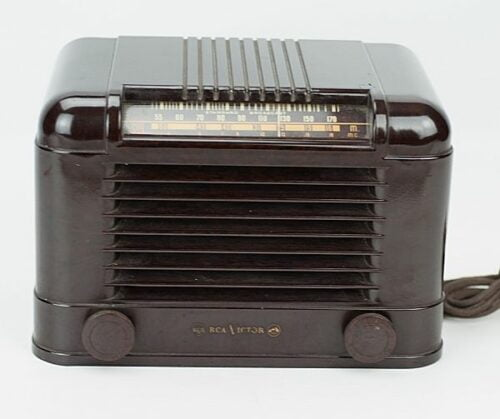 Radio RCA Victor de baquelita | 2
