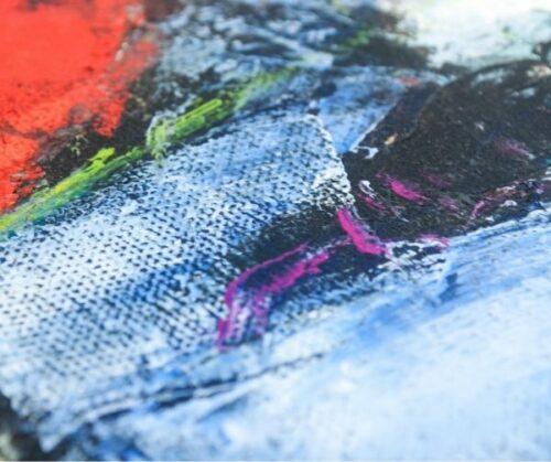 Arcadio Boyer Ramírez pintura al óleo Pescadora | 2