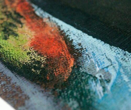 Arcadio Boyer Ramírez pintura al óleo Pescadora | 3