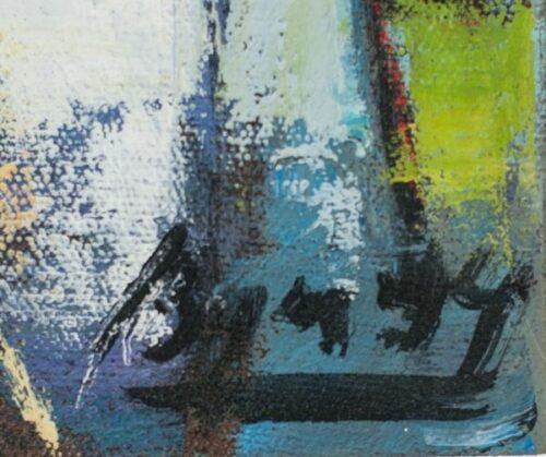 Arcadio Boyer Ramírez pintura al óleo Pescadora | 4