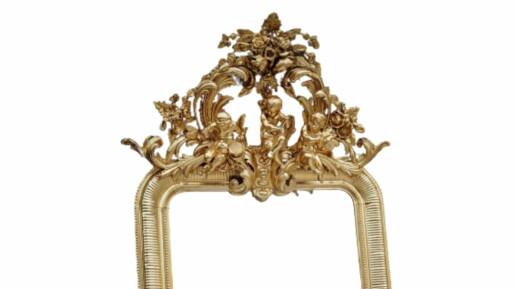 espejo marco frances